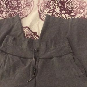 Lululemon wide leg crop pants